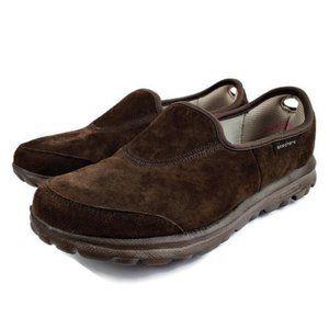 Clarks Brown Suede GoWalk Resalyte Sneakers 6M
